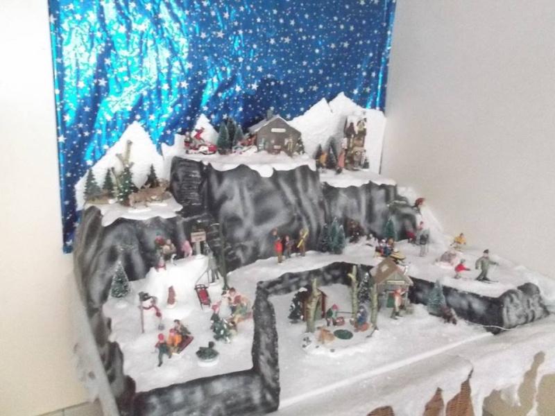 mon 1er village de noel (sport d hiver) 14584711