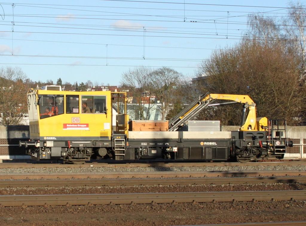 ROBEL Bullok 54.22 Draisine Maintenance DB Bahnbau - Kibri 16100 Db-bah10