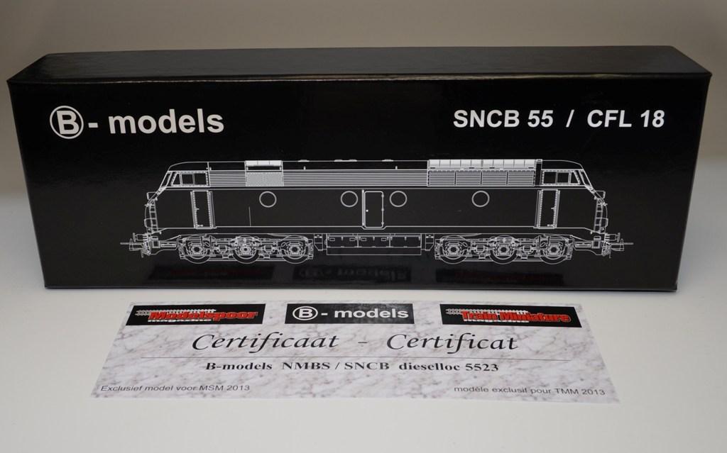 Action 5523 SNCB du TrainMiniatureMagazine - Modelspoormagazine Dsc_0025