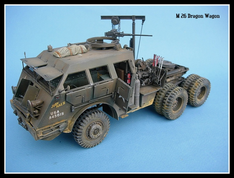 M 26 Dragon Wagon Tamiya 1/35 Dscn0013