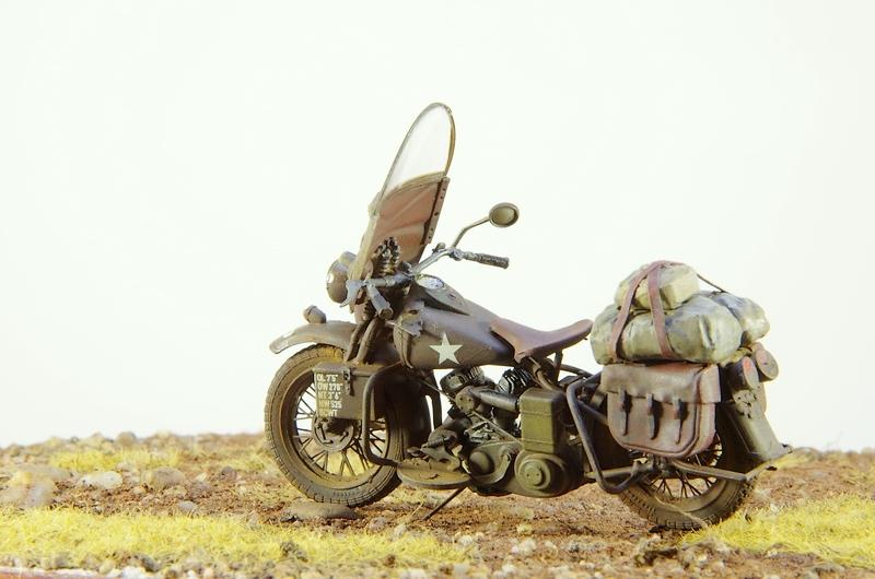 Harley Davidson WLA Miniart 1/35 Imgp1010