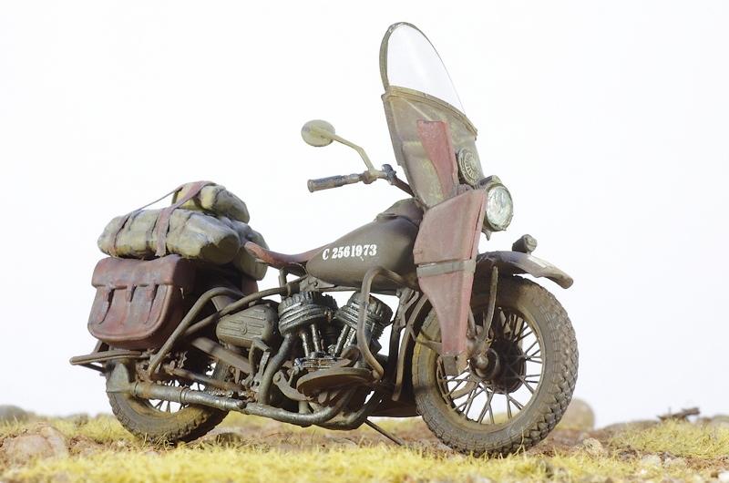 Harley Davidson WLA Miniart 1/35 Imgp1011