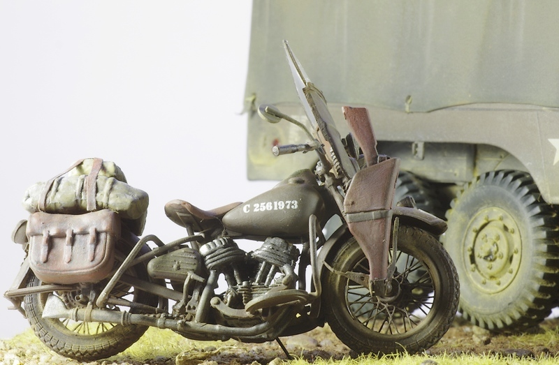 Harley Davidson WLA Miniart 1/35 Imgp1014