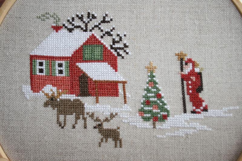 Christmas Village Sara SAL libre  Img_0717