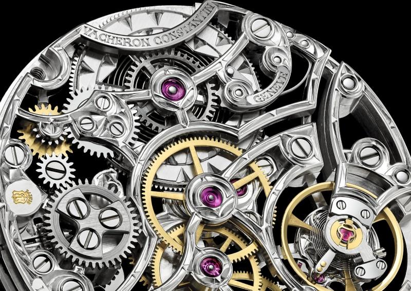 vacheron - [NEWS] VACHERON CONSTANTIN : Métiers d'Art Mécaniques Ajourées 4400sq10
