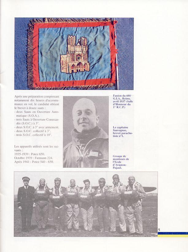 LES PIONNIERS du parachutisme militaire 1937 - 1943 1er_rc11