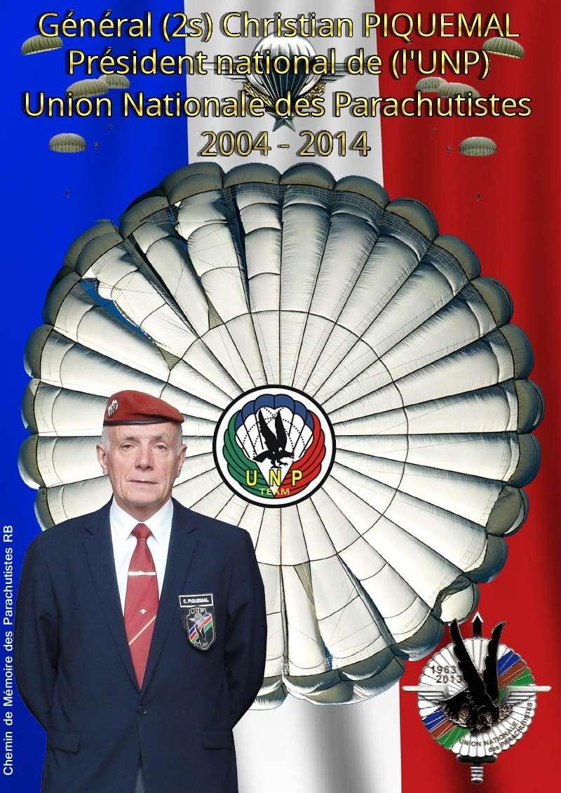Général (2s) Christian Piquemal, dix ans de mandat bien rempli à la tête de l'Union Nationale des Parachutistes (U.N.P.)