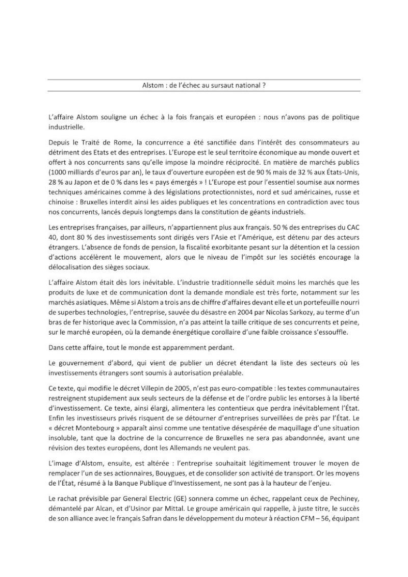 Alstom : de l'échec au sursaut national ?  Alstom10