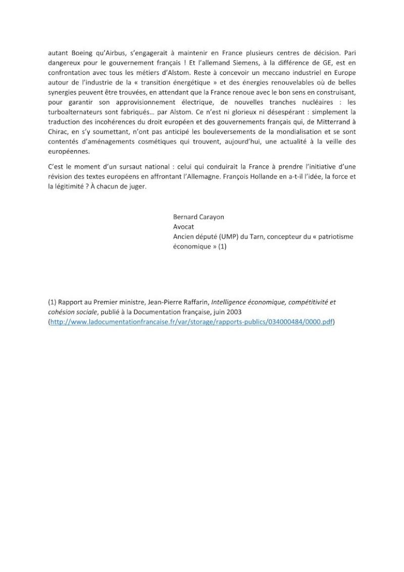 Alstom : de l'échec au sursaut national ?  Alstom11