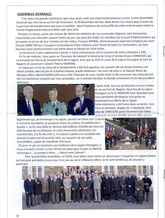 """Bulletin CITADELLE n°21 décembre 2013 """"Il nous reste le souvenir en héritage"""" Citade11"""