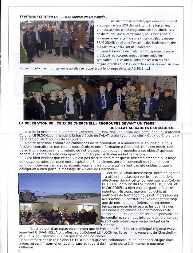 """Bulletin CITADELLE n°21 décembre 2013 """"Il nous reste le souvenir en héritage"""" Citade12"""