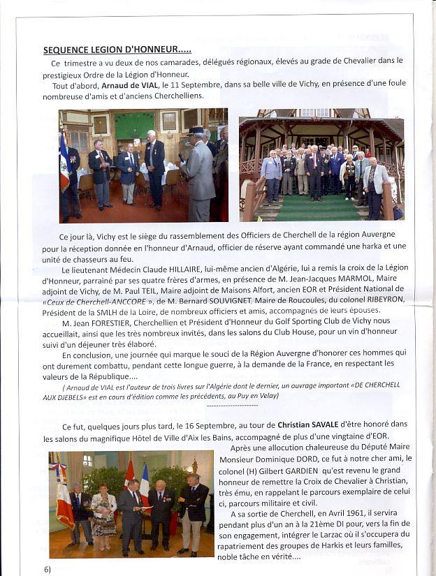 """Bulletin CITADELLE n°21 décembre 2013 """"Il nous reste le souvenir en héritage"""" Citade13"""