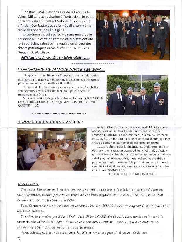 """Bulletin CITADELLE n°21 décembre 2013 """"Il nous reste le souvenir en héritage"""" Citade14"""