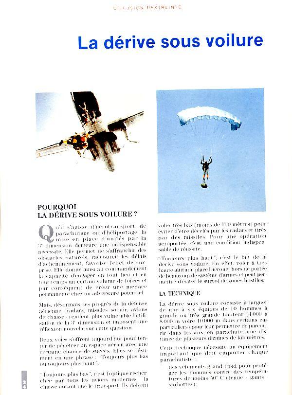 LA DERIVE SOUS VOILURE vu en 1992 par le Lnt-colonel DARY Derive10