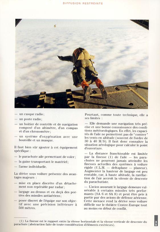 LA DERIVE SOUS VOILURE vu en 1992 par le Lnt-colonel DARY Derive11