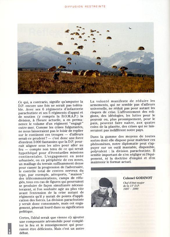 REFLEXION SUR L'AVENIR DE LA DIVISION PARACHUTISTE Divisi13