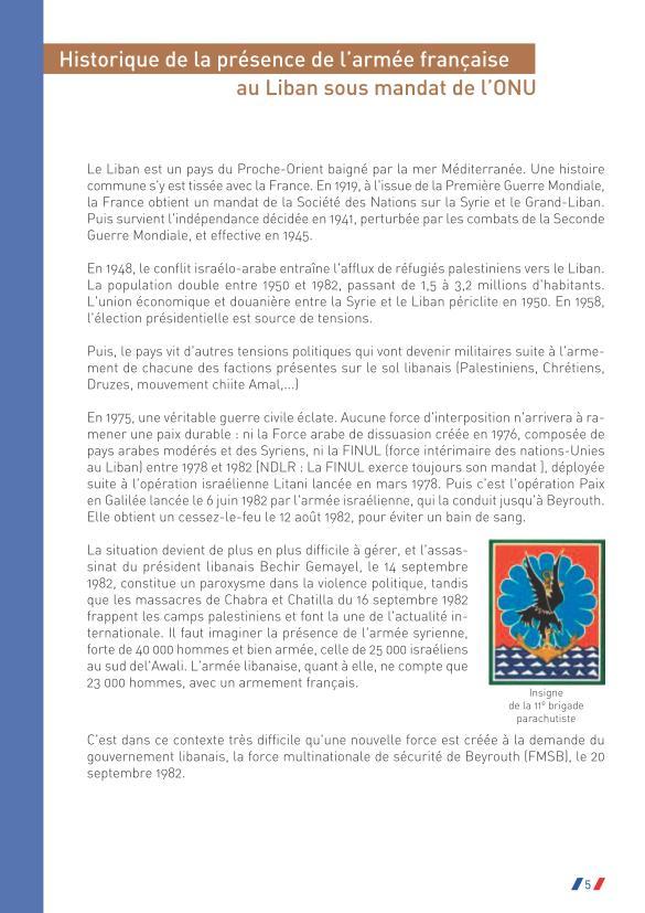Préfet de la Somme: Hommage au caporal Laurent Thorel et à ses compagnons d'arme à l'occasion du 30ème anniversaire de l'attentat du Drakkar du 23 octobre 1983  Drakka65