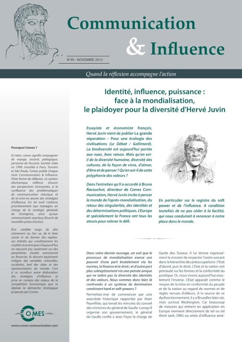 Identité, influence, puissance : face à la mondialisation Identi10