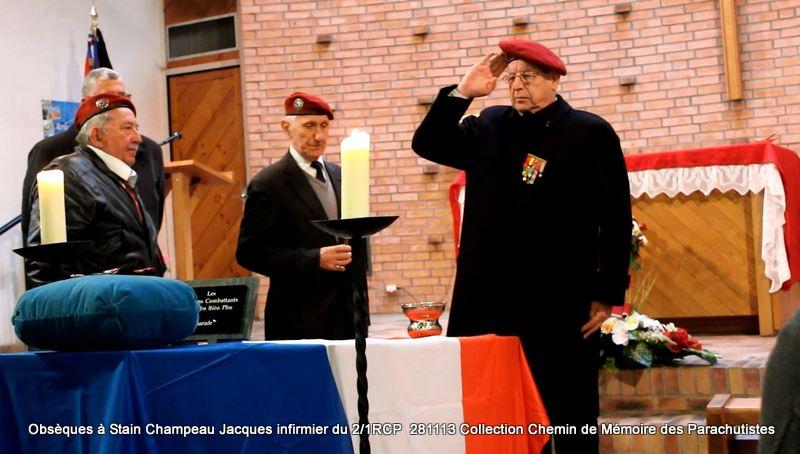Champeau Jacques infirmier du 2/1RCP - A Dieu Jacques Champeau! Lucien10