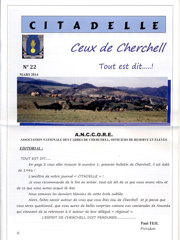 """Bulletin CITADELLE n°22 de mars 2014 """"Tout est dit""""   Page1_10"""