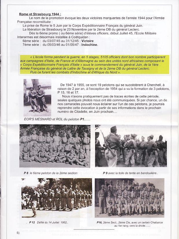 """Bulletin CITADELLE n°22 de mars 2014 """"Tout est dit""""   Page5_10"""