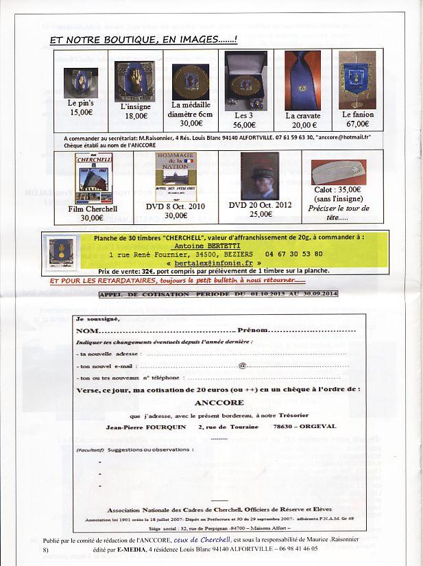 """Bulletin CITADELLE n°22 de mars 2014 """"Tout est dit""""   Page8_10"""