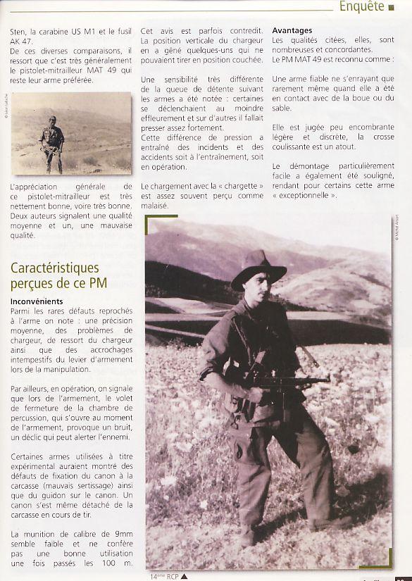 """Le PM """"MAT 49"""" de la Manufacture d'Armes de Tulle Pm3210"""