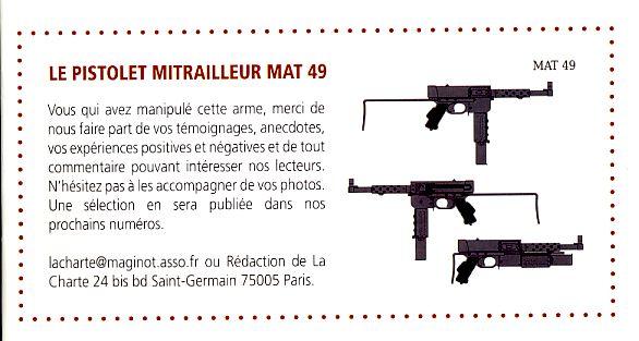 """Le PM """"MAT 49"""" de la Manufacture d'Armes de Tulle Pm_110"""