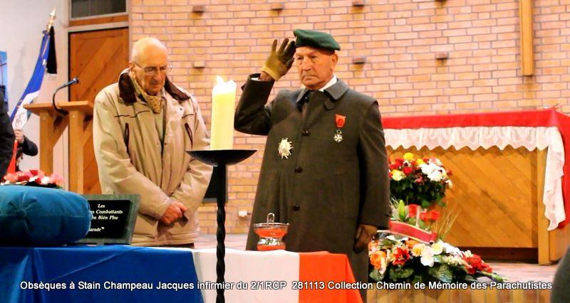 Champeau Jacques infirmier du 2/1RCP - A Dieu Jacques Champeau! Salut410