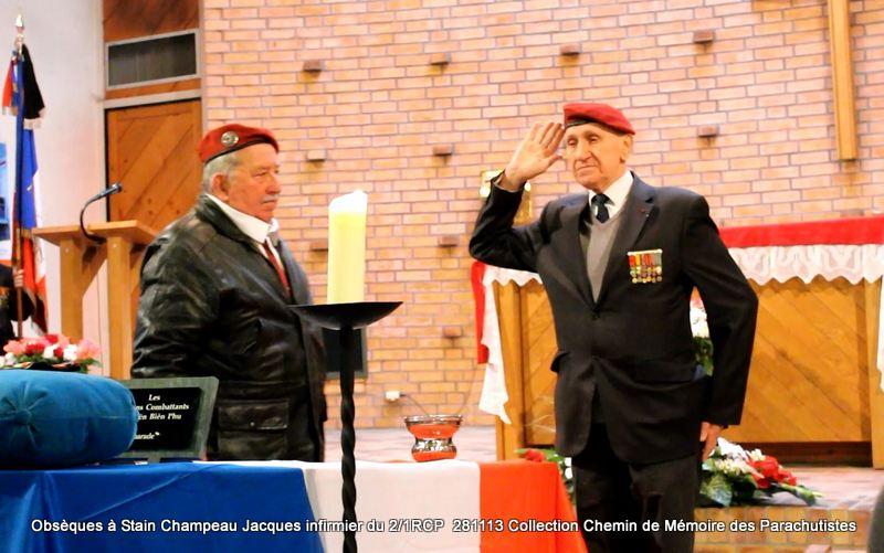Champeau Jacques infirmier du 2/1RCP - A Dieu Jacques Champeau! Salut_10