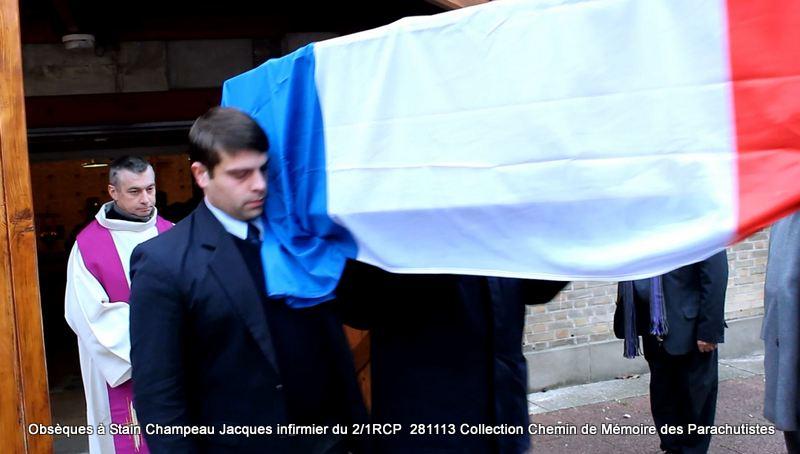 Champeau Jacques infirmier du 2/1RCP - A Dieu Jacques Champeau! Sortie10