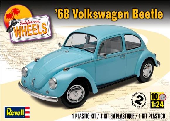 VW beetle 68 - 1/24 - Revell Cox10