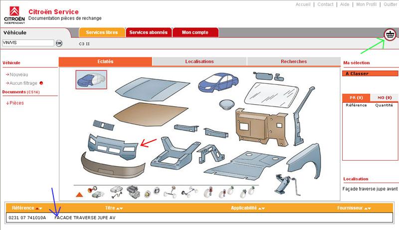 Service box PSA : toutes les pièces de votre auto. Citroe10