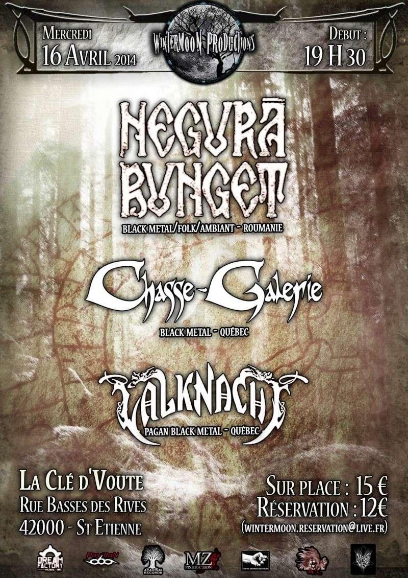16/04/2014 - Negura Bunget + Chasse Galerie - St Etienne (42 Negura10