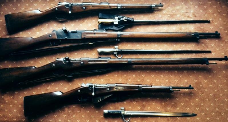 """Armes réglementaires de la """"Grande guerre"""" 191410"""