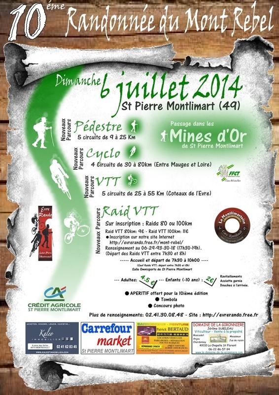 Mont Rebel 2014... Affich11