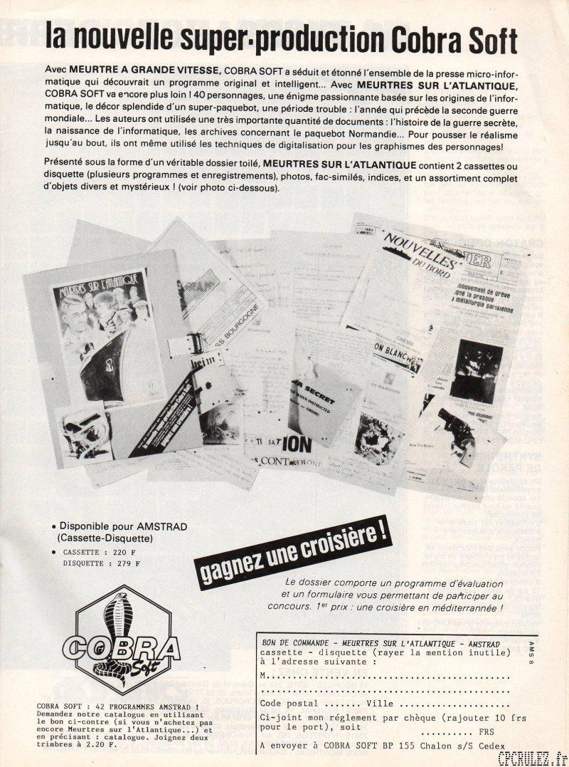 Revue de Presse d'époque Pubcob10