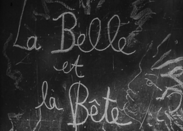 1946 - La belle & la bête - Jean Cocteau Titre10