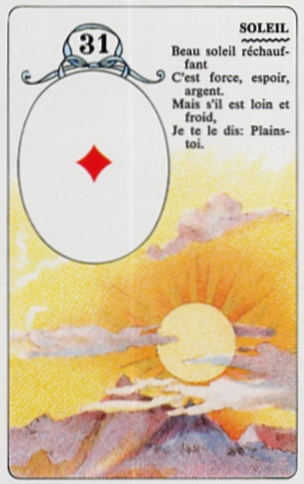 Le Petit Lenormand Soleil10
