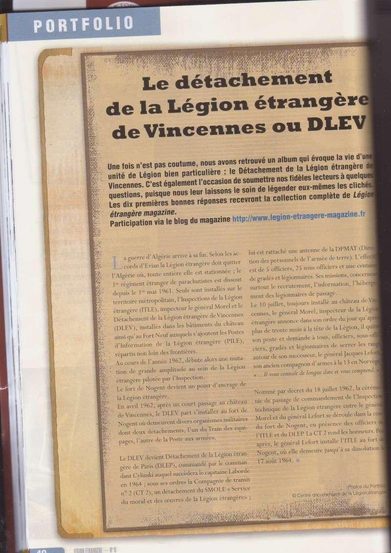 - Le D.L.E. de Vincennes ( Photos) _numer10