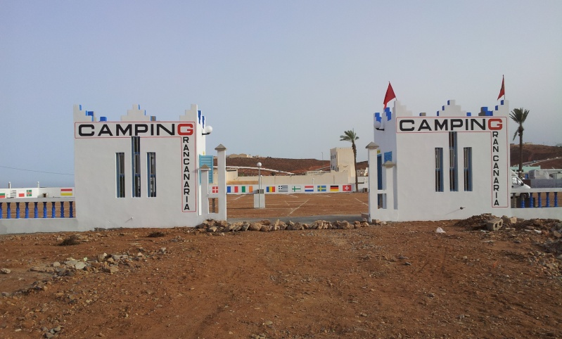 nouveau camping à Sidi Ifni : Gran canaria 20131215