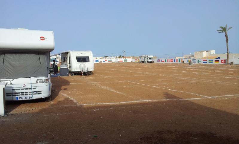 nouveau camping à Sidi Ifni : Gran canaria 20131220