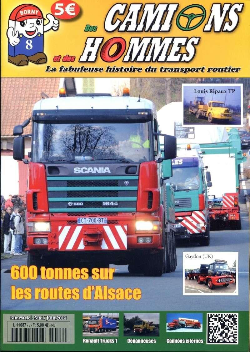 le numéro 8 du magazine Des Camions et des Hommes en kiosque mercredi  Fact0810