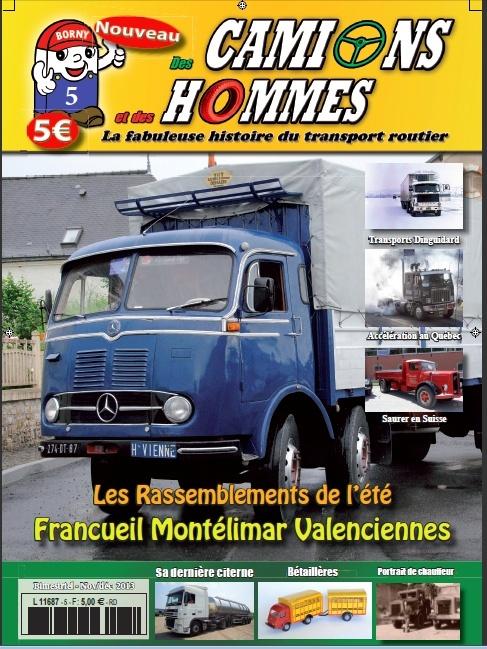 Le numéro 5 du magazine Des Camions et des hommes Mag_dc14