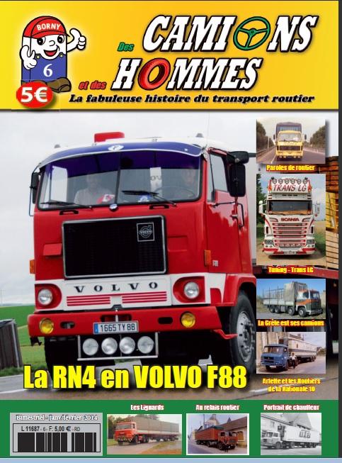 Numéro 6 du magazine Des Camions et des hommes Volvo_11