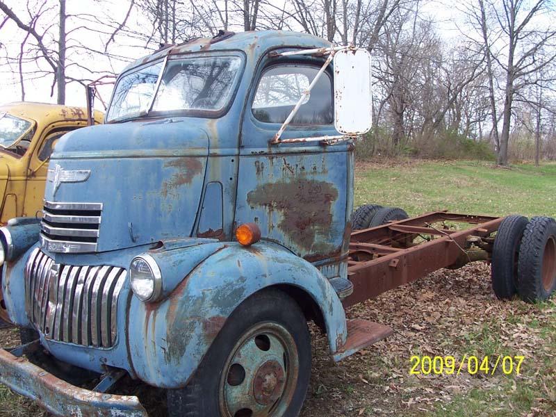 """CHEVY 1941 COE """" dump"""" (benne)... sale !!!! 02q10"""