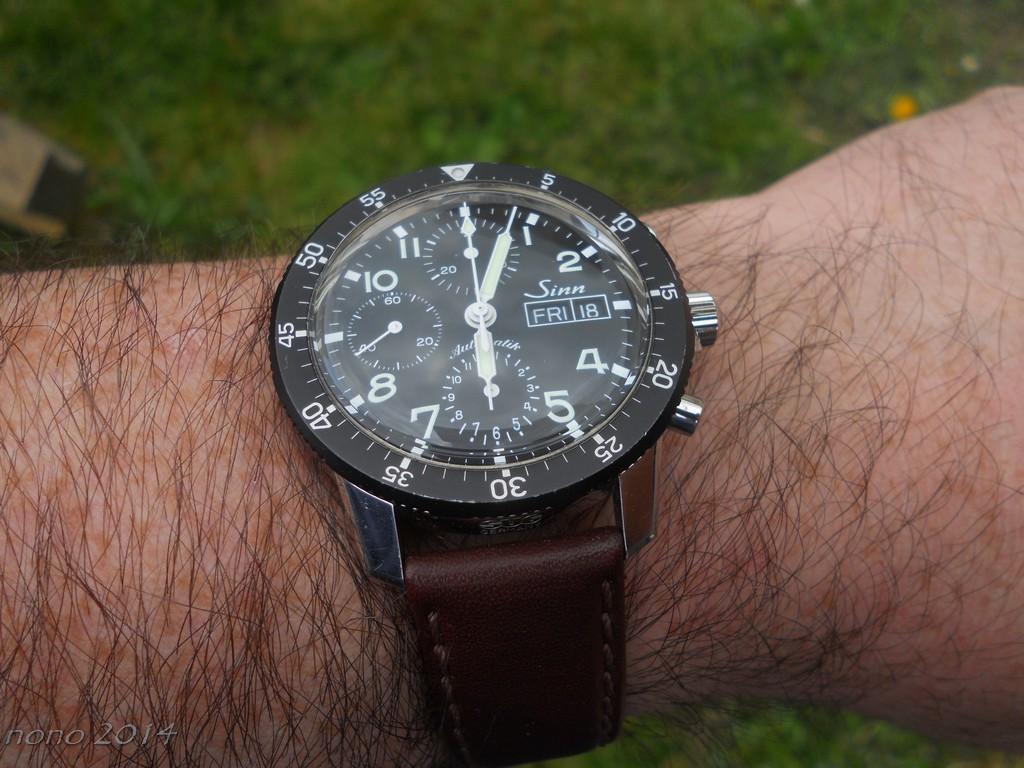Votre montre du jour Sinn7311