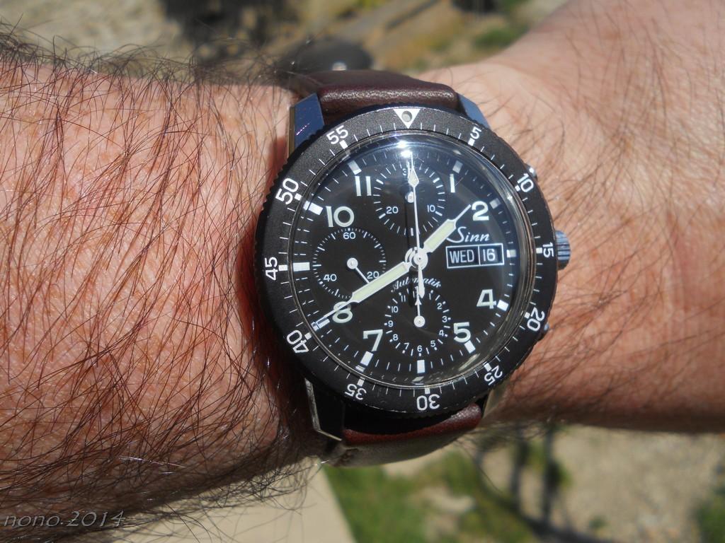 Votre montre du jour Sinn7410