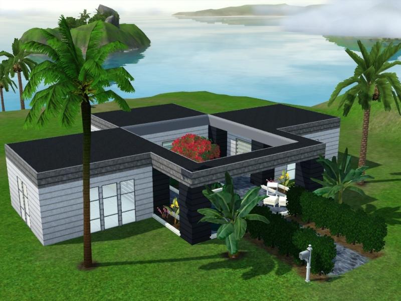 [Sims3]-Débutant- Atelier construction moderne.  Screen16