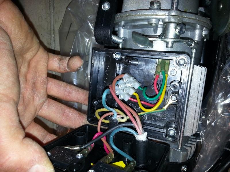 mettre une telecommande radio sur un treuil avec commande a fil 20140215
